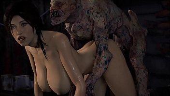 Lara croft pelada esta pelada dando