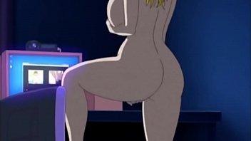 Xvideos hentai com a peituda safada se mostrando pro punheteiro