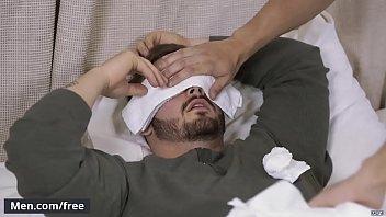 Gay dotado comendo o cu do seu paciente