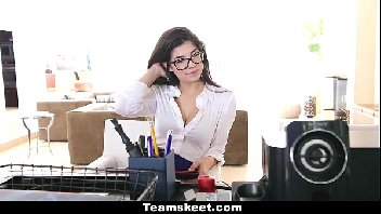 Secretaria e o patrão na meteção deliciosa